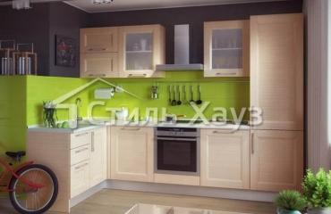 Кухня из МДФ рамочного ТЕХНО-2