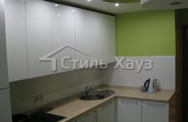 Кухонный гарнитур с фасадами из акрила