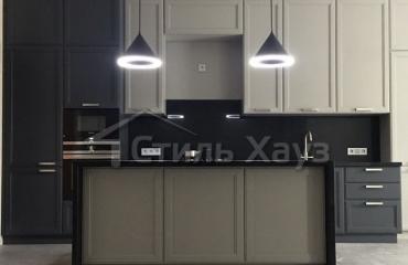 Кухня массив ясеня Т509/120