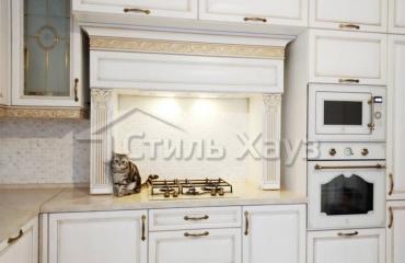 Кухня Лорецо патина золото