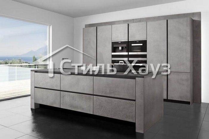 Венеция-40 МДФ крашеный, спецэффект бетон